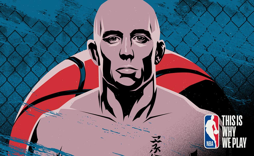 NBA / Georges St-Pierre